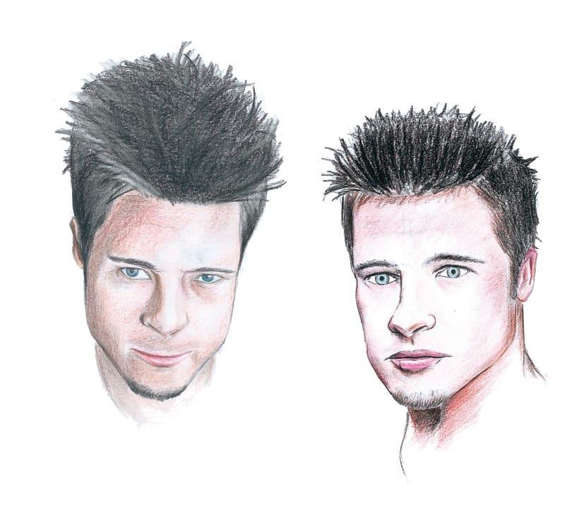 Brad Pitt expresiones faciales -1