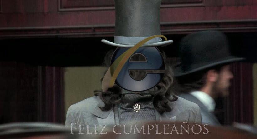 Felicitaciones IE 8