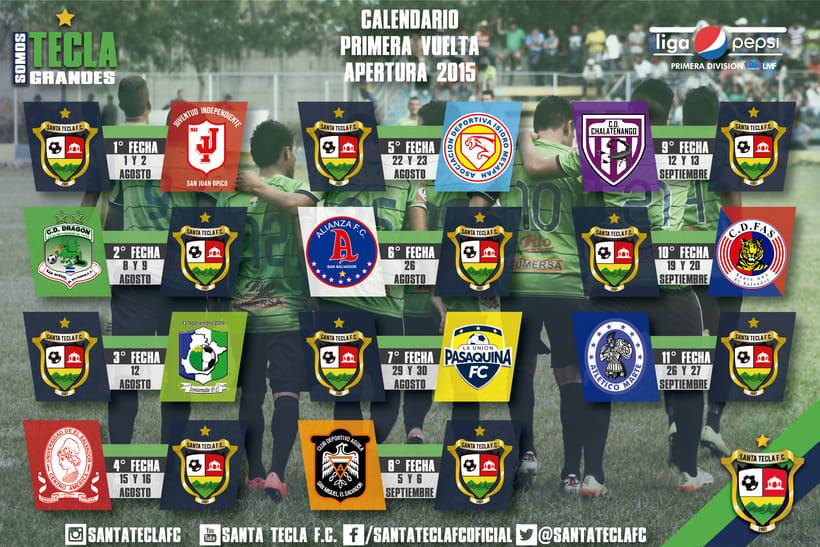 Santa Tecla Fútbol Club - Apertura 2015 1