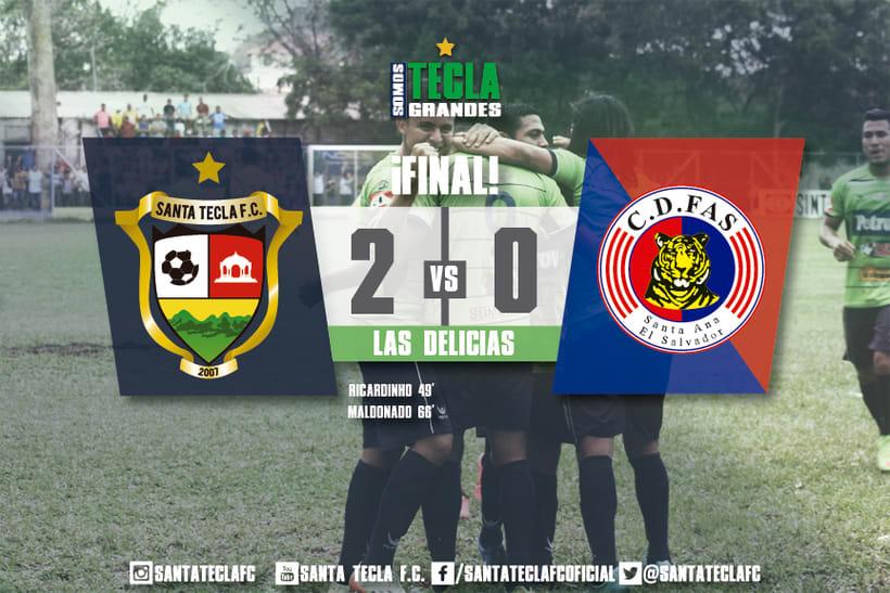 Santa Tecla Fútbol Club - Apertura 2015 5