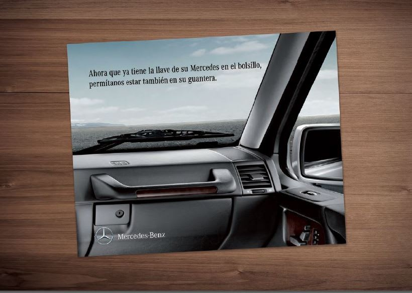 Welcome pack Mercedes-Benz 0
