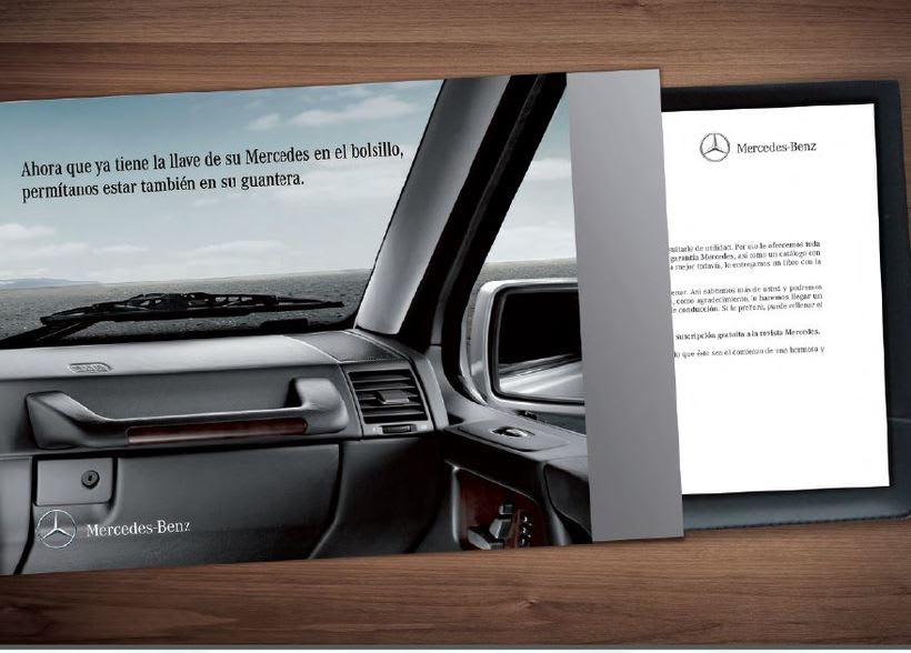 Welcome pack Mercedes-Benz 1
