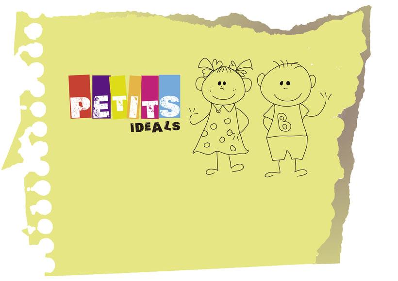 Imagen corporativa de Ptetits Ideals 2