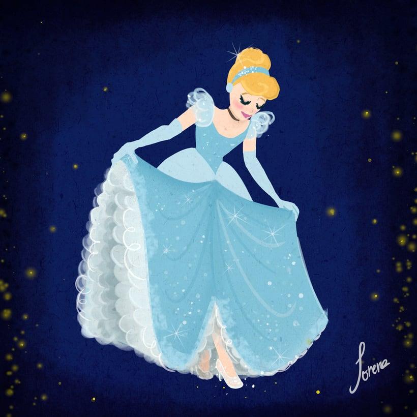 Disney Princesses in square 1