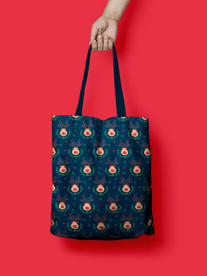 Reindeer Christmas | Pattern Design 3