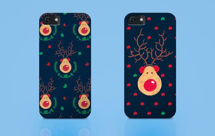 Reindeer Christmas | Pattern Design 7