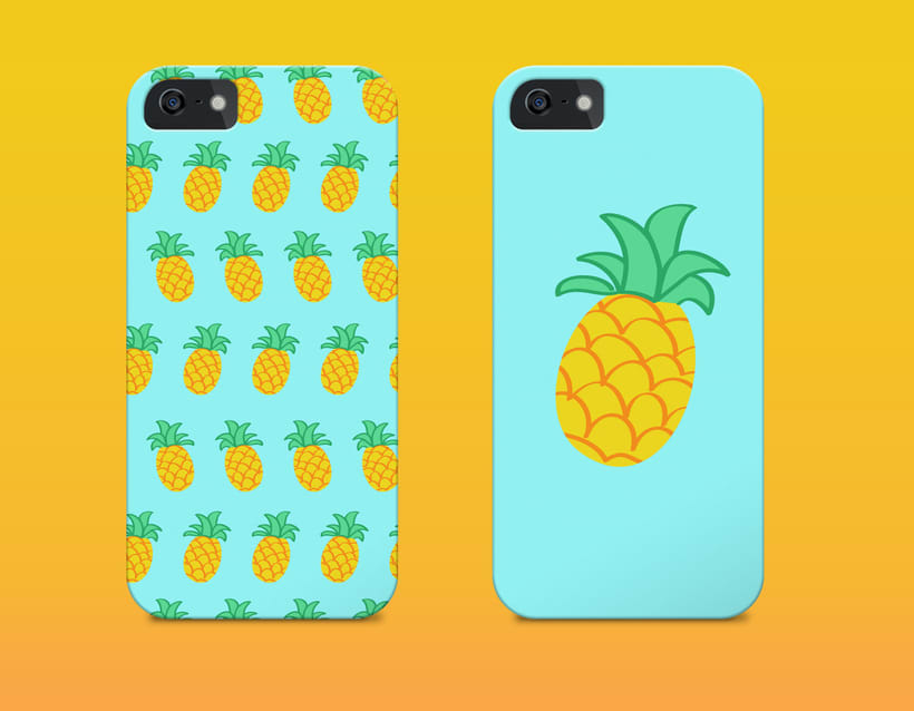 Pineapple | Pattern Design 3
