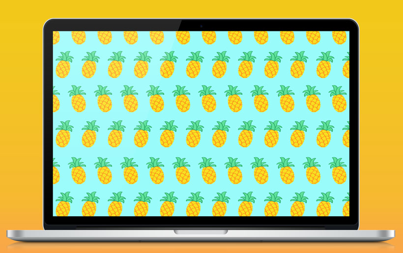 Pineapple | Pattern Design 4
