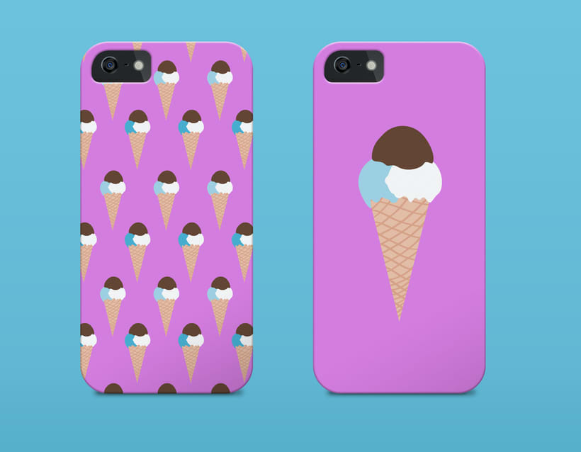 Cloud Ice-Cream | Pattern Design 3