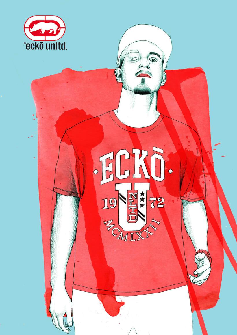 Proyecto de moda para Ecko Unltd 0