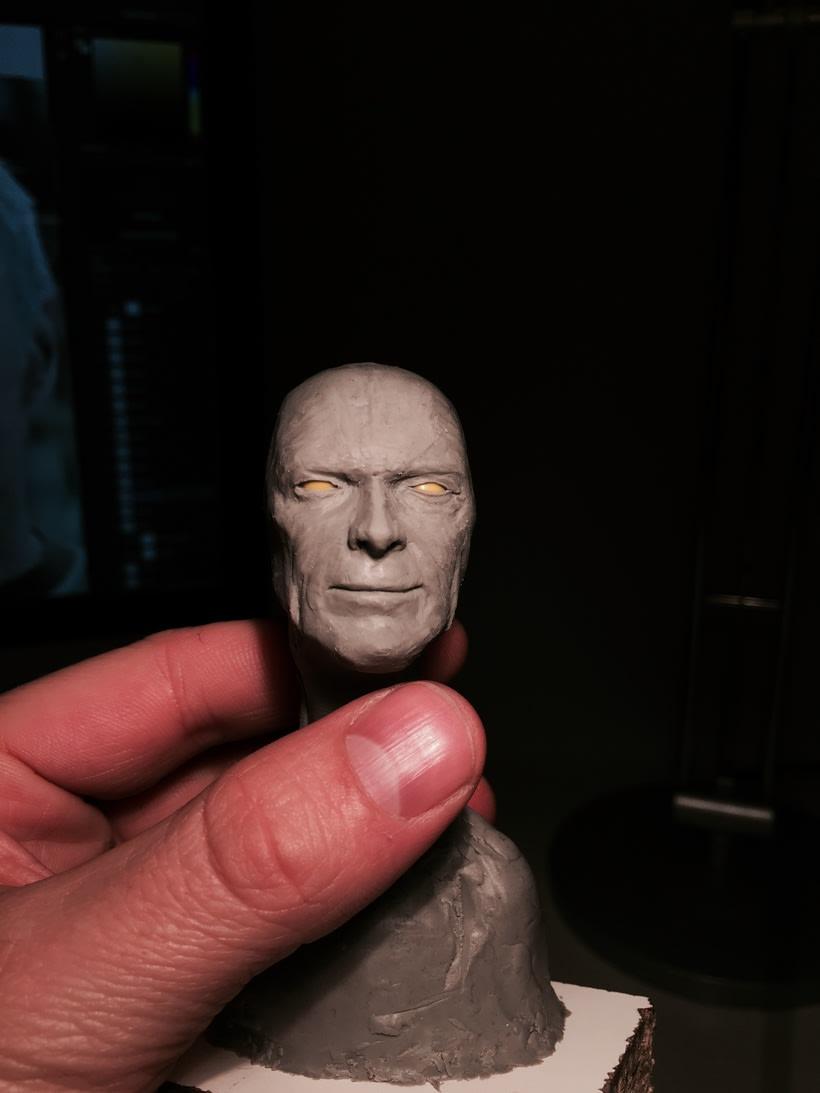 Busto miniatura 1/6 de Clint Eastwood 10