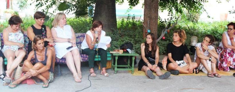 """Live drawing """"Els feminismes que ens fan felices"""" 6"""