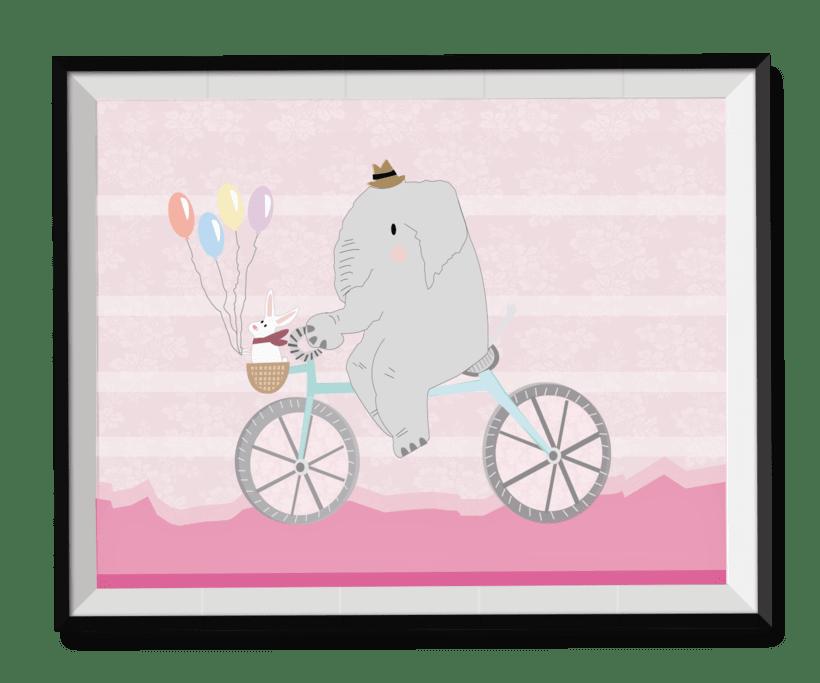 Elefante rosa -1