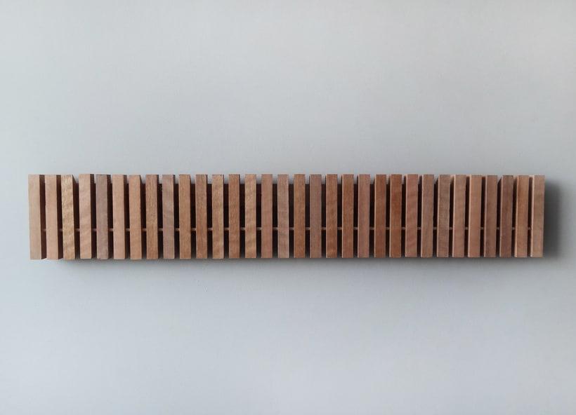 MARIMBA colgador de pared_ wall hanger 0