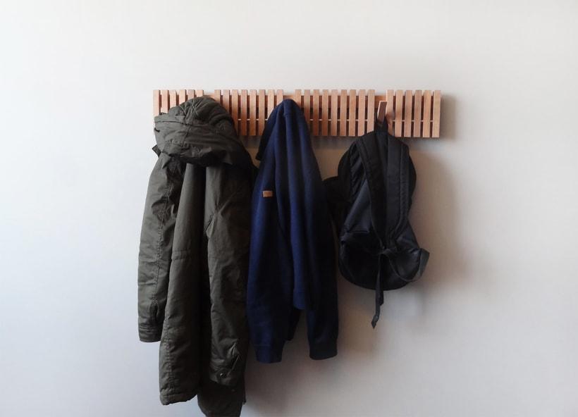 MARIMBA colgador de pared_ wall hanger 3