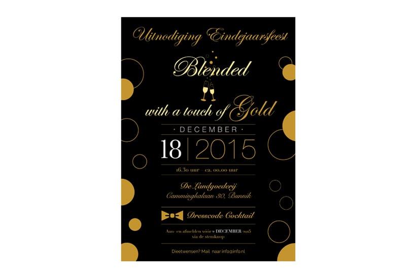 Invitación Fiesta Fin de Año 2