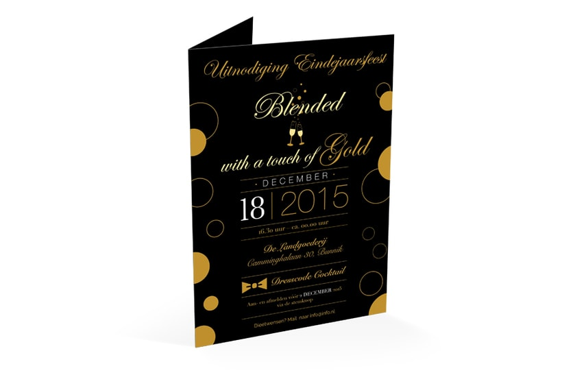 Invitación Fiesta Fin de Año 1