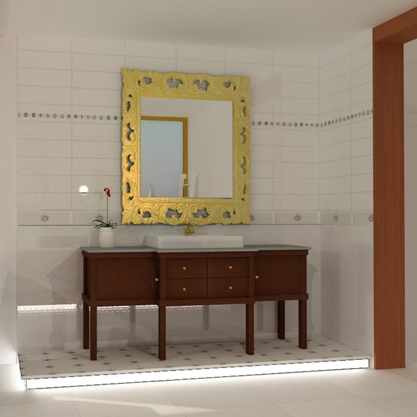 Proyecto Showroom. Modelado 3d e iluminación. 3