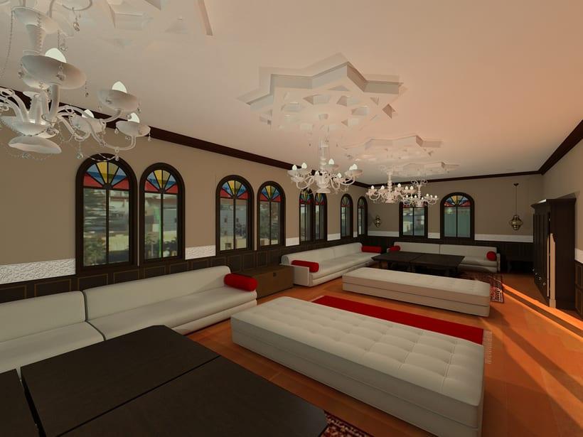 Proyecto Showroom en Melilla. Modelado 3d e iluminación. -1