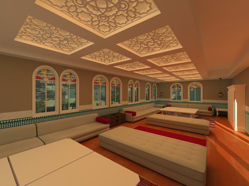 Proyecto Showroom en Melilla. Modelado 3d e iluminación. 0
