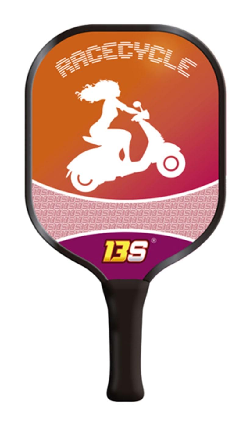 Diseño Logo e ilustraciones de palas 13Sacramento 6