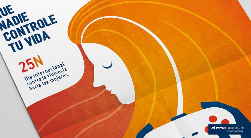 Campaña 25N Día Internacional Hacia el Maltrato a la Mujer 2