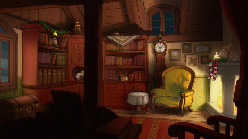 Ilustraciones, Fondos para animación -1