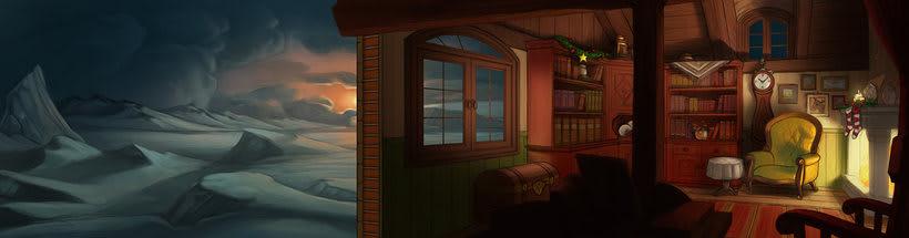 Ilustraciones, Fondos para animación 0