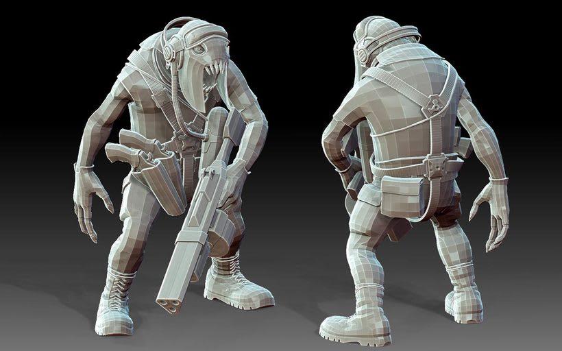 Personaje 3D, Videojuegos 2
