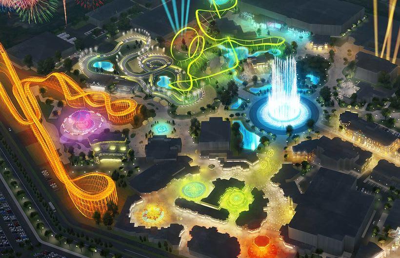 Concept art, Parque temático 3