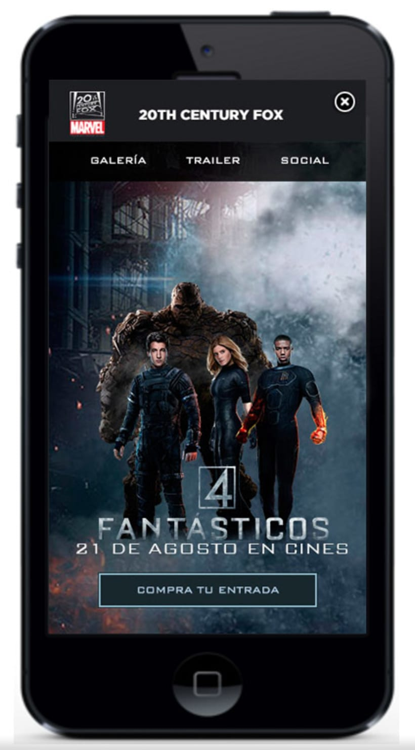 Campaña mobile para Fox -1