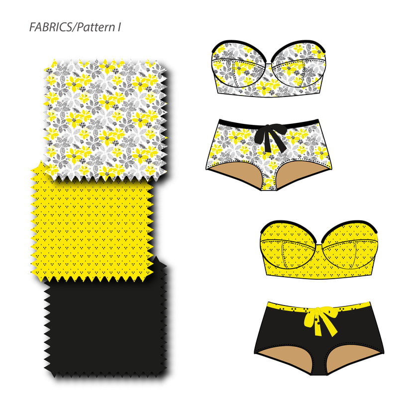 Yellow Friday.Patterns 3