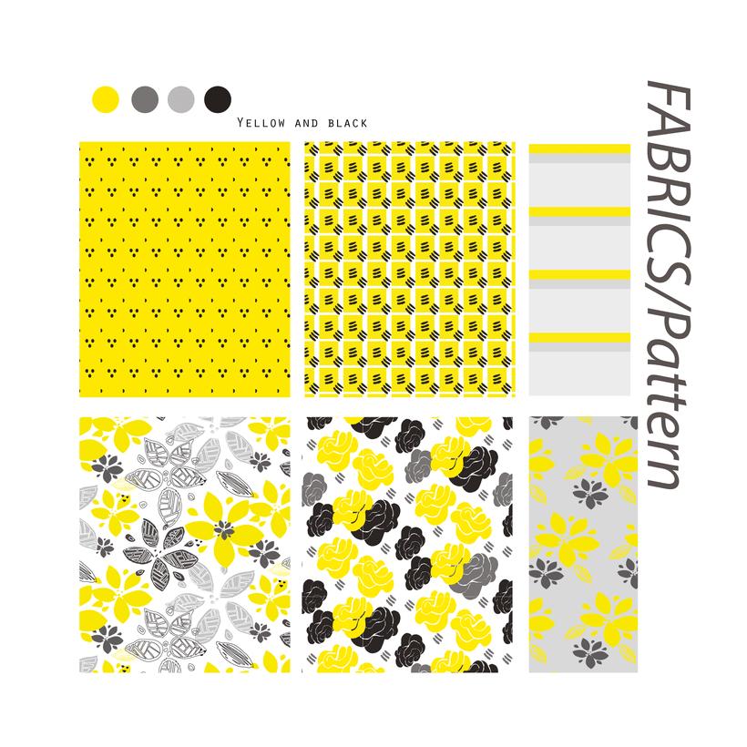 Yellow Friday.Patterns 1