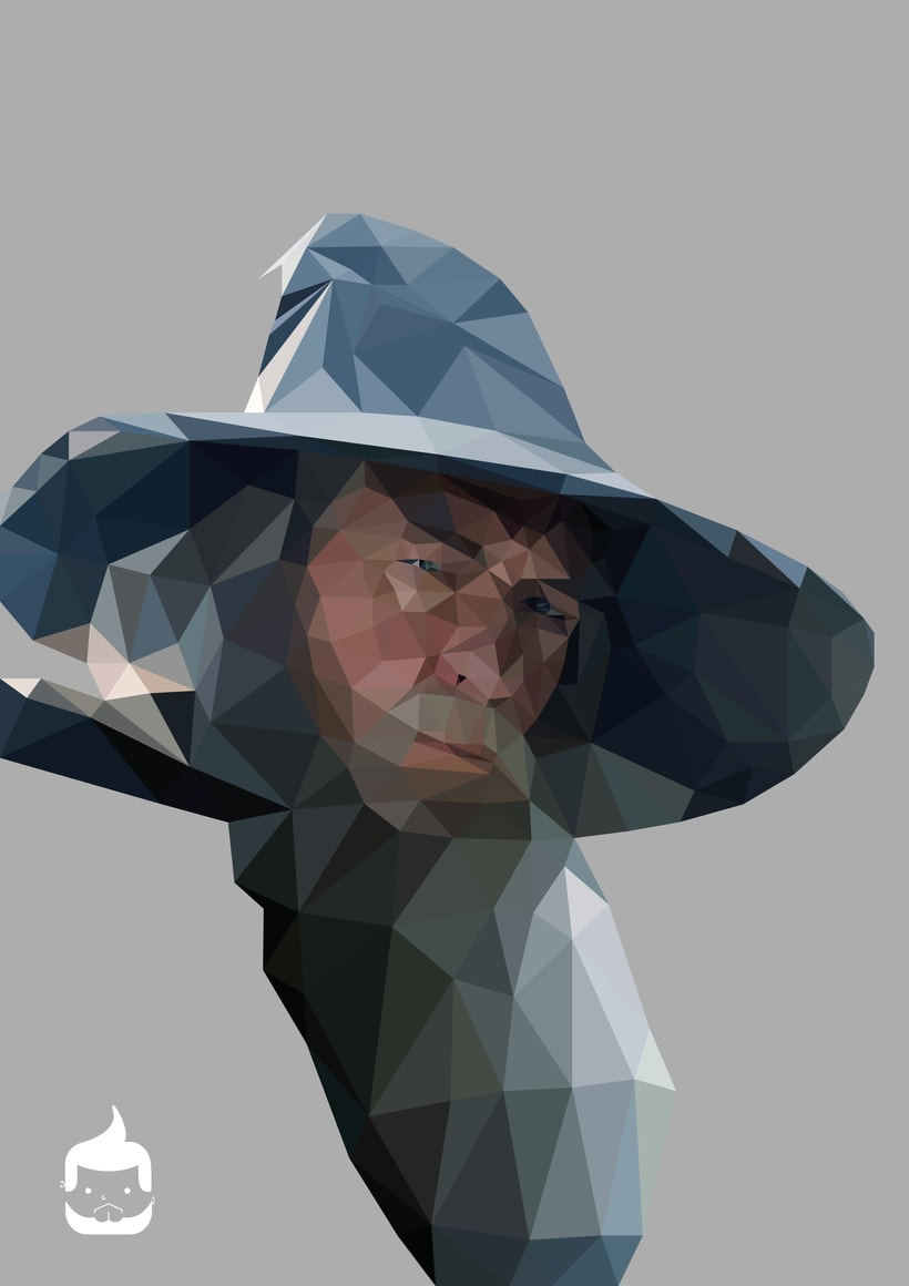 Pósters low poly 3