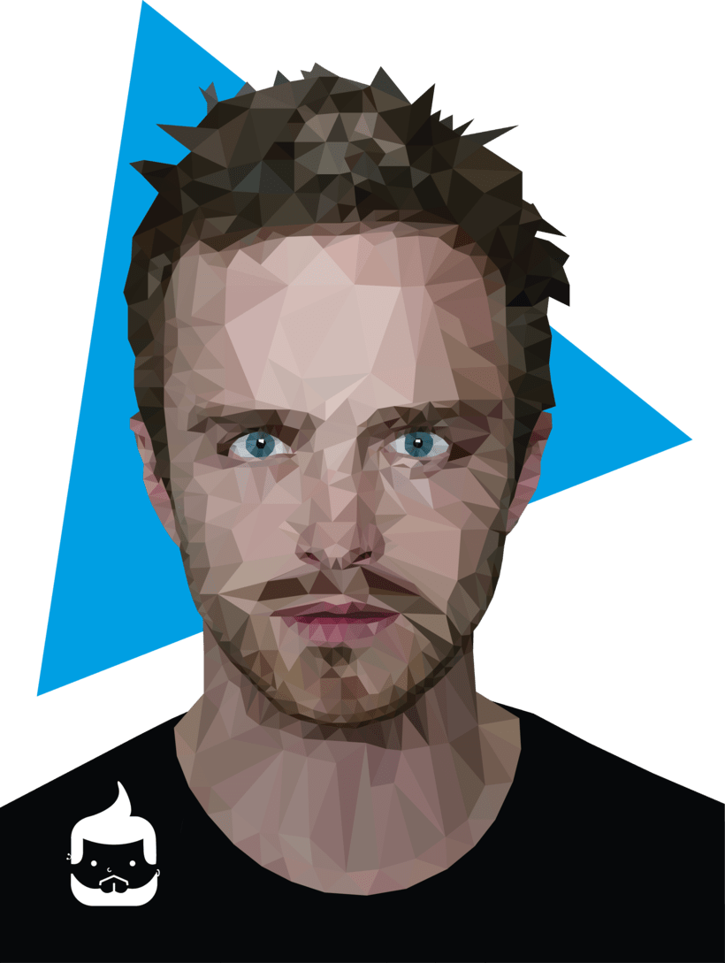 Pósters low poly 10