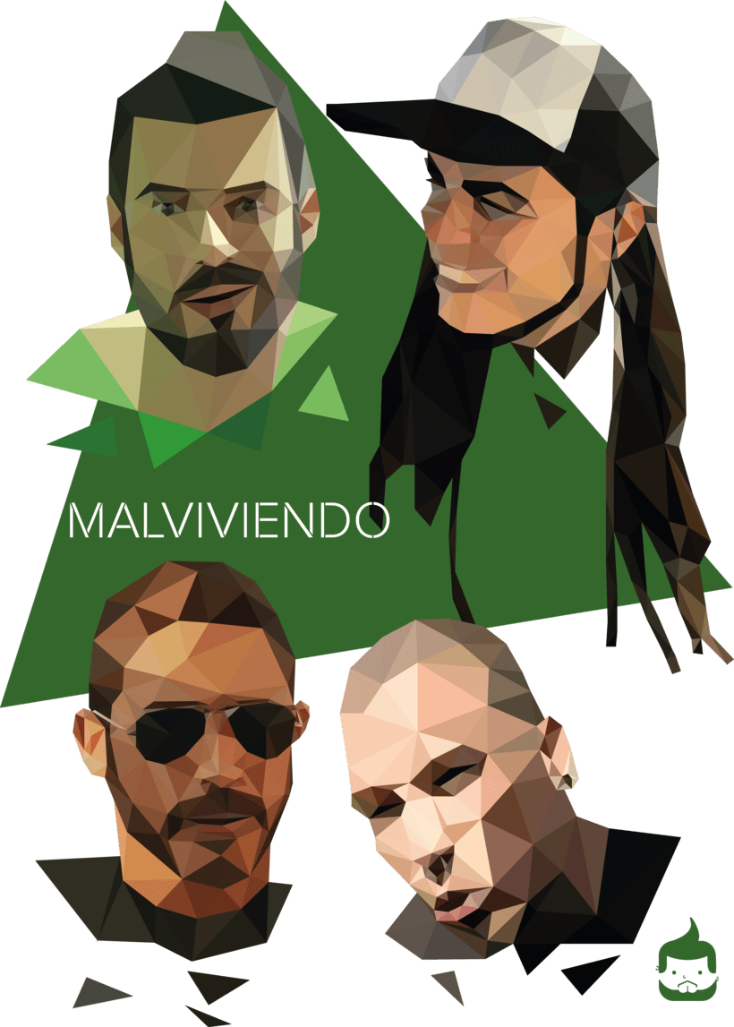 Pósters low poly 14