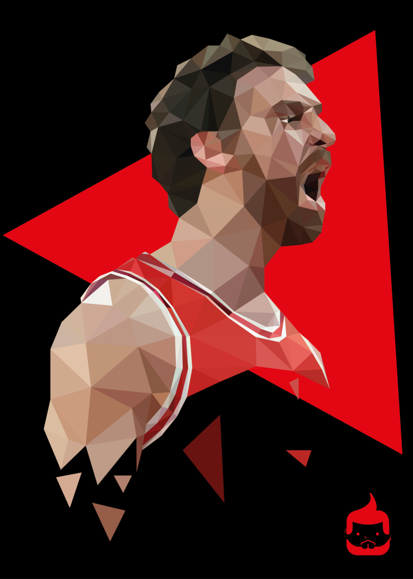 Pósters low poly 16