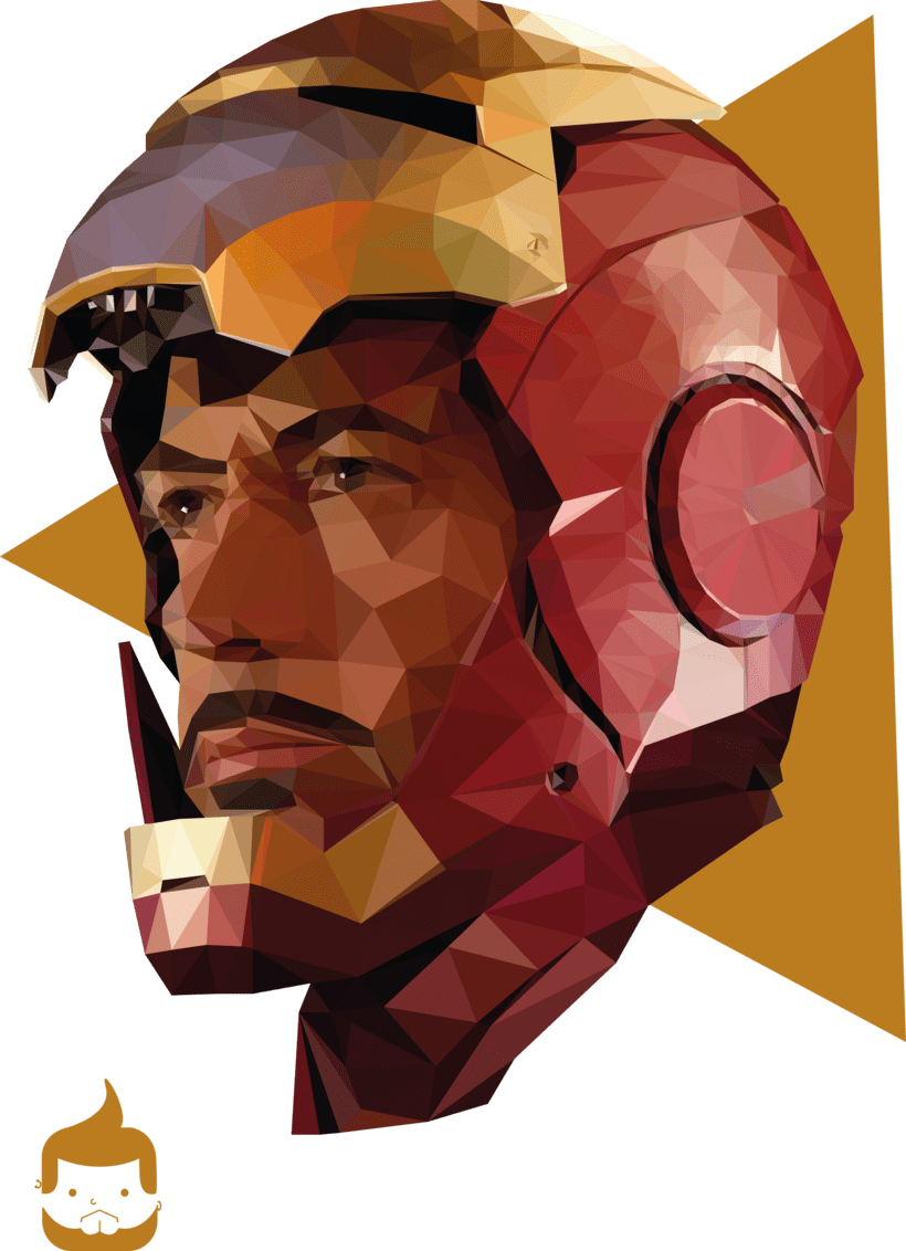 Pósters low poly 18