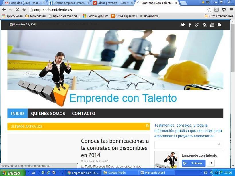 Plataforma Digital Emprendecontalento.es -1