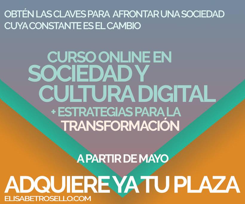 Early Bird para el Curso Online en Sociedad y Cultura Digital+estrategias de cambio 1