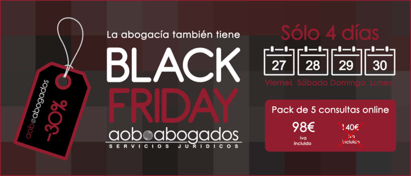 Black Friday AOB Abogados 0