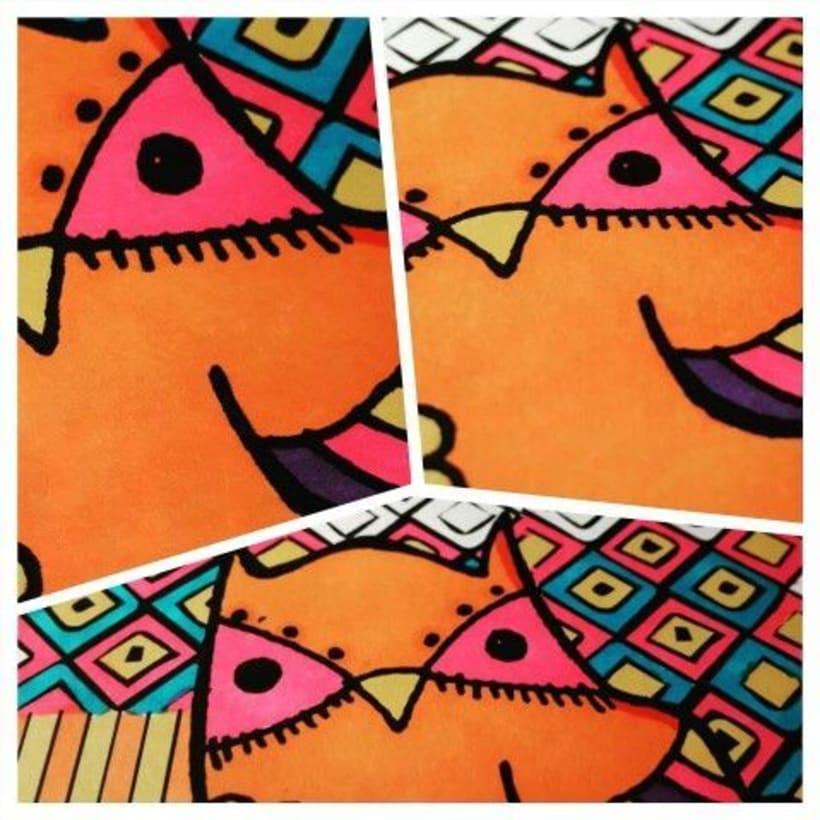 Ilustración de personajes - Buhos - BY VA 1