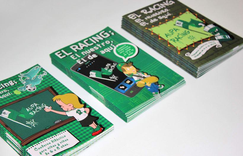 Manuales infantiles -EL RACING; el nuestro, el de aquí-Nuevo proyecto 6