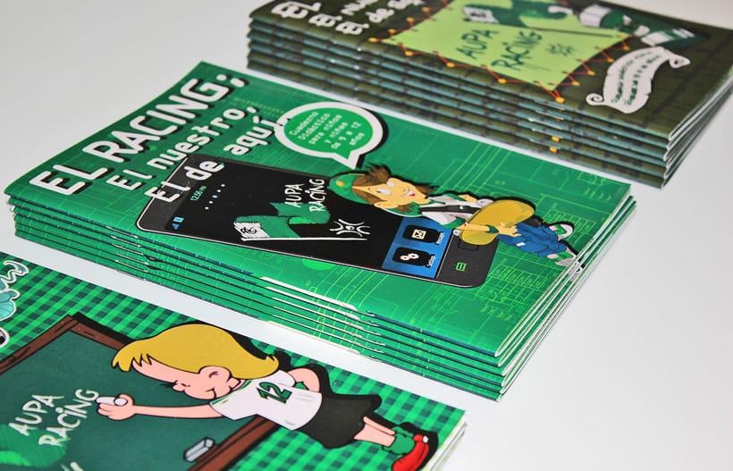 Manuales infantiles -EL RACING; el nuestro, el de aquí-Nuevo proyecto 7