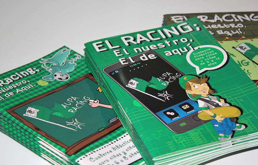 Manuales infantiles -EL RACING; el nuestro, el de aquí-Nuevo proyecto 8