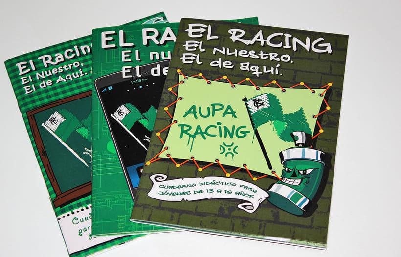 Manuales infantiles -EL RACING; el nuestro, el de aquí-Nuevo proyecto 9