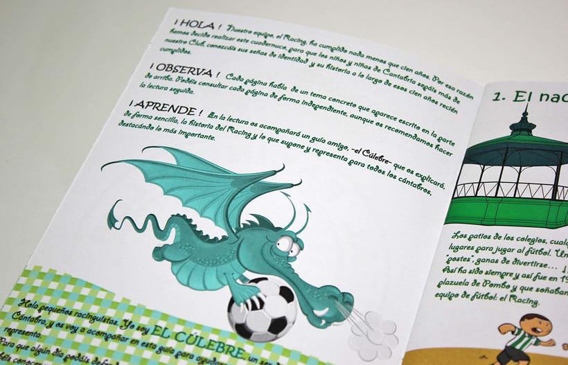 Manuales infantiles -EL RACING; el nuestro, el de aquí-Nuevo proyecto 10
