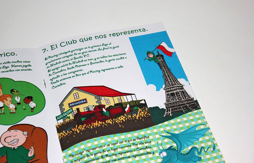 Manuales infantiles -EL RACING; el nuestro, el de aquí-Nuevo proyecto 11