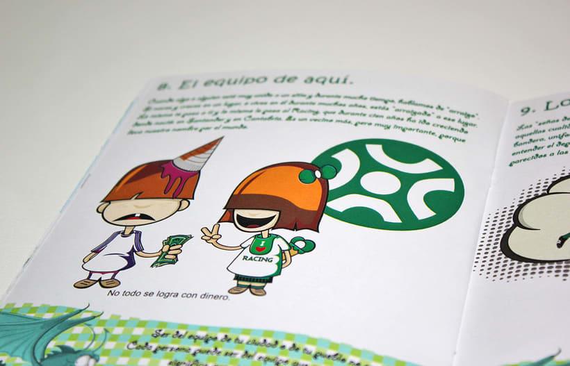 Manuales infantiles -EL RACING; el nuestro, el de aquí-Nuevo proyecto 15