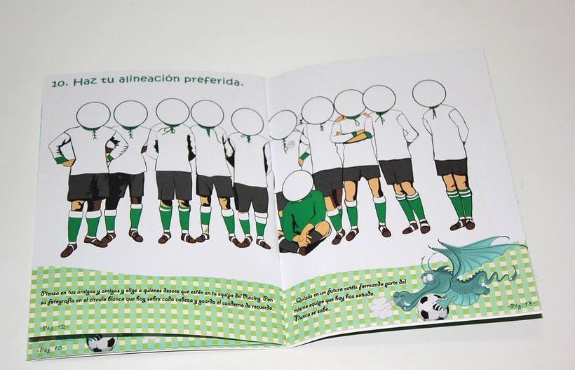 Manuales infantiles -EL RACING; el nuestro, el de aquí-Nuevo proyecto 13